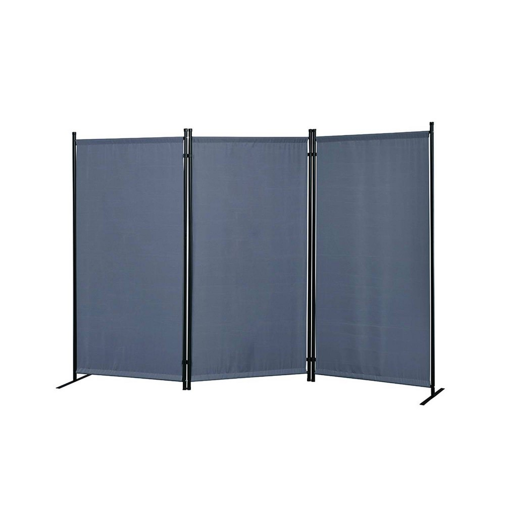 Image of Galaxy Outdoor/Indoor Room Divider Gray - Proman Products