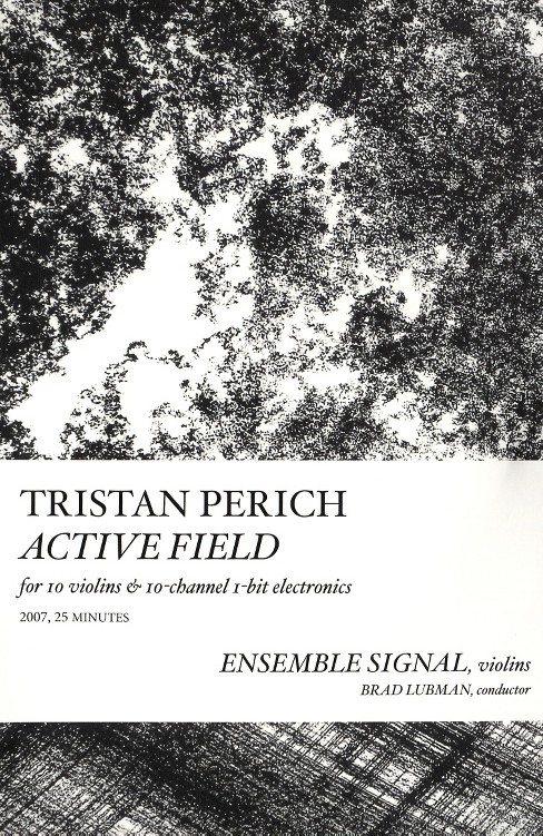 Tristan perich - Compositions:Active field (CD) - image 1 of 1
