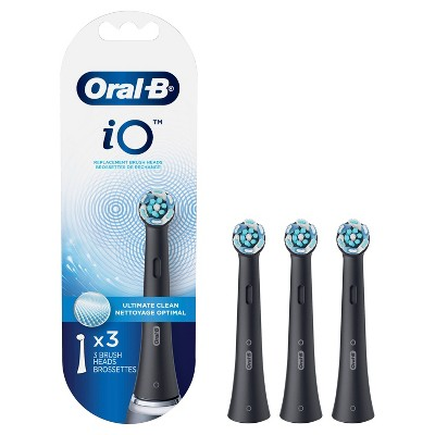 Oral-B iO Ultimate Clean Replacements Brush Heads - White - 3ct