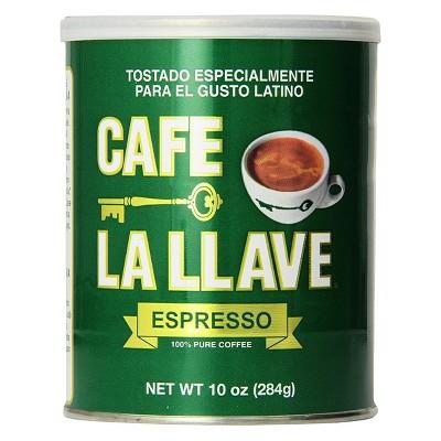 Cafe La Llave Espresso Roast Dark Roast Ground Coffee - 10oz