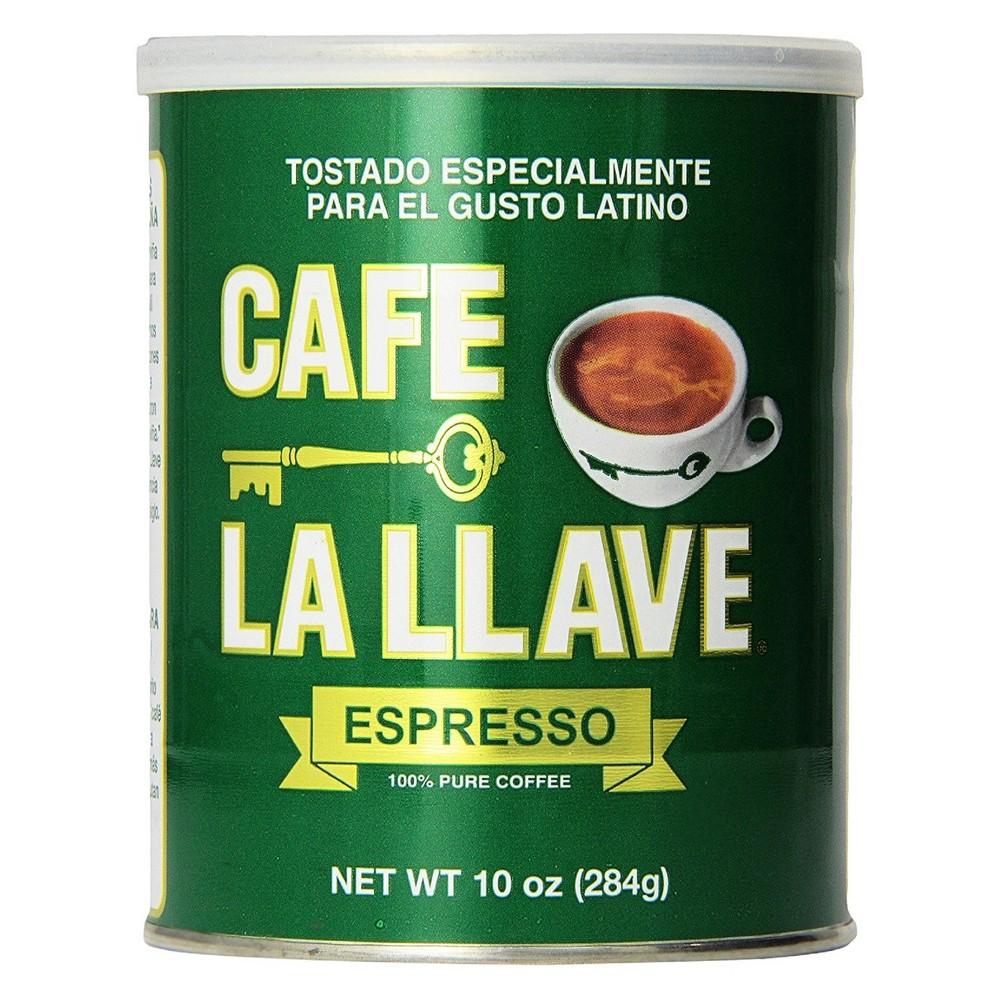 Cafe La Llave Espresso Roast Dark Roast Ground Coffee 10oz