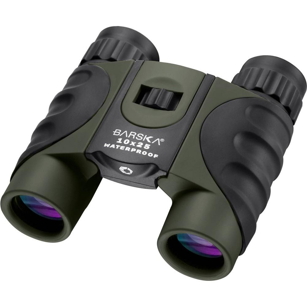 Barska 10x25mm Wp Binoculars Green