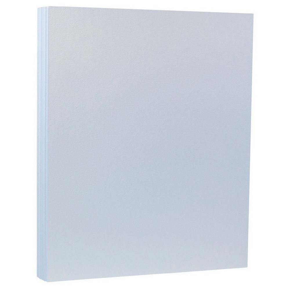 Jam Paper, Basis 28lb Paper, 8.5  x 11 , 50pk - Baby Blue, Blue Sky Jam Paper Basis 28lb Paper comes in a variety of bright and bold colors. Perfect for special occasions, school projects, work or even home use. This acid free, printer compatible paper is sold in a pack of 50 sheets. Each sheet measures 8.5 x 11 inches (standard letter size). Color: Blue Sky. Age Group: Adult.