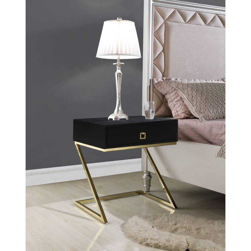 Francisco Side Table Black - Chic Home Design was $289.99 now $173.99 (40.0% off)
