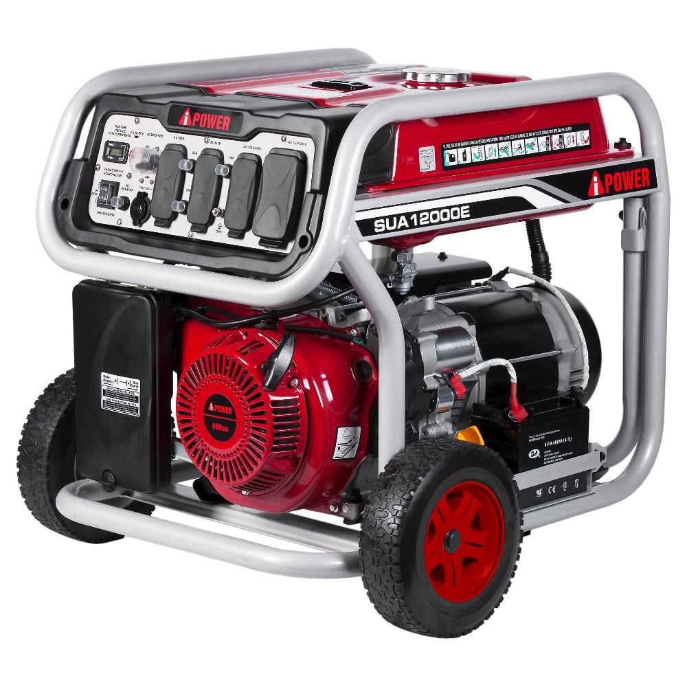 Image of 12000 Watt Gasoline Powered Portable Generator Electric Start - A-iPower