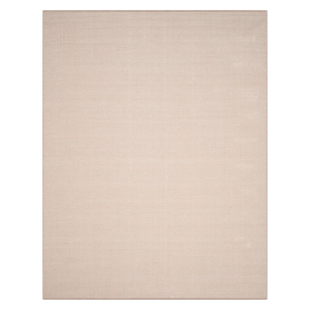 Polka Dots Woven Area Rug Ivory/Gray