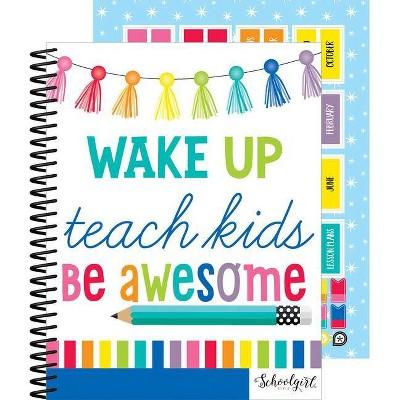 Hello Sunshine Teacher Planner - by  Melanie Ralbusky (Spiral Bound)