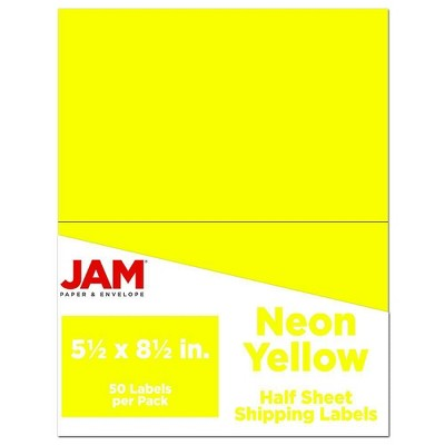 Jam Paper Shipping Labels 5 5 X 8 5 50ct Target