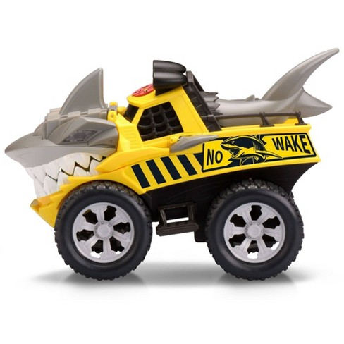 Kid Galaxy Road Rockers Motorized Lights and Sound Yellow Shark Vehicle - image 1 of 4