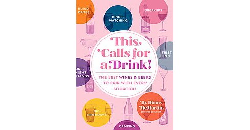 This Calls for a Drink! : The Best Wines & Beers to Pair With Every Situation (Hardcover) (Diane - image 1 of 1