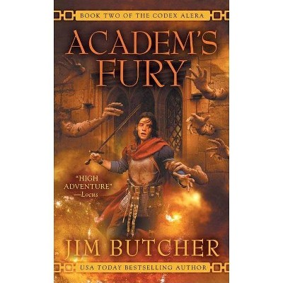 Academ's Fury - (Codex Alera (Paperback)) by  Jim Butcher (Paperback)