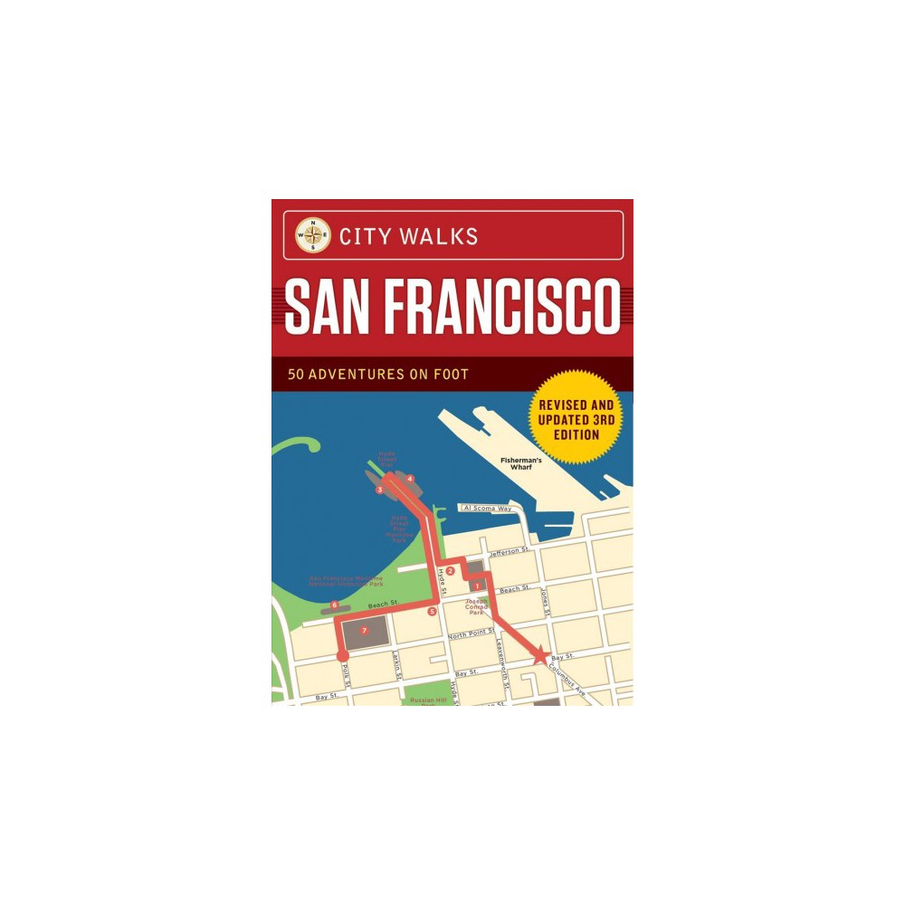 City Walks San Francisco - (City Walks) by Christina Henry De Tessan (Paperback)