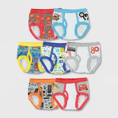 Toddler Boys' Cars 7pk Underwear 4T