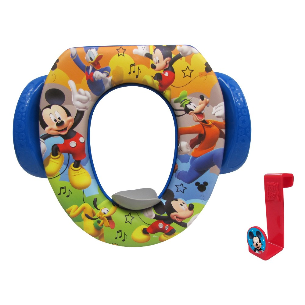Disney Mickey Mouse & Friends Mickey Mouse Busy Having Fun Soft Potty, Multi-Colored