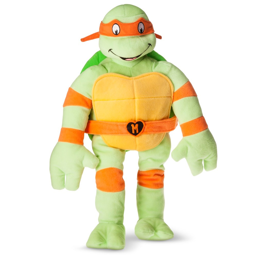 Teenage Mutant Ninja Turtles Pillow - Michelangelo, Grn
