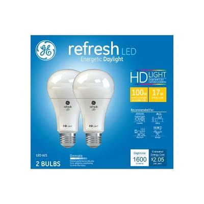 General Electric Refresh 100W Ca Refresh LED Light Bulb