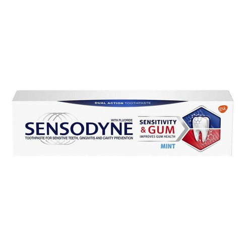 Sensodyne + Gum Mint Single Pack - 3.4oz - image 1 of 4