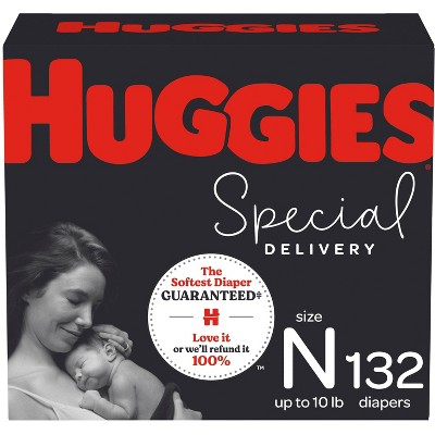Huggies Special Delivery Hypoallergenic Baby Disposable Diapers Size Newborn - 132ct