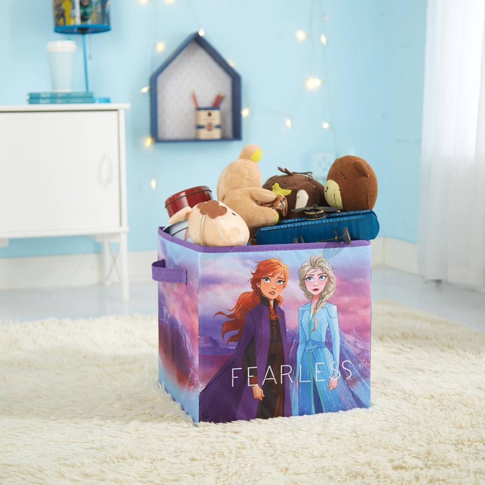 Image of Frozen 2 Collapsible Storage Bin Blue