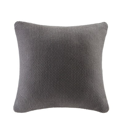 Bree Knit Throw Pillow Black