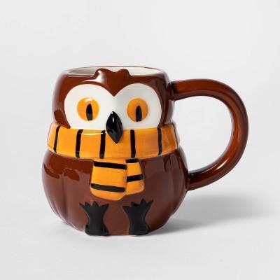 13oz Earthenware Owl Mug - Hyde & EEK! Boutique™
