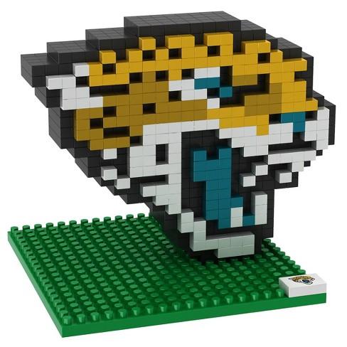 NFL Jacksonville Jaguars BRXLZ Mascot Figure 1000pc - image 1 of 1