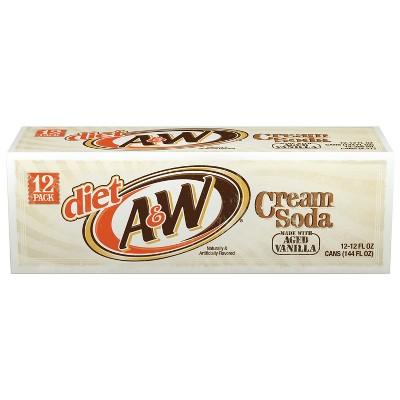 Soft Drinks: Diet A&W Cream Soda