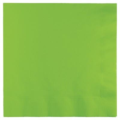 50ct Fresh Lime Green Napkins