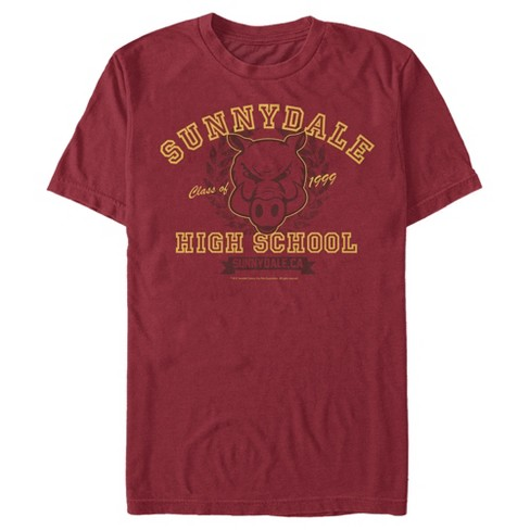 Men's Buffy the Vampire Slayer Sunnydale Razorbacks School Uniform T-Shirt - image 1 of 3