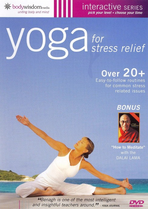 Yoga for Stress Relief (dvd_video) - image 1 of 1