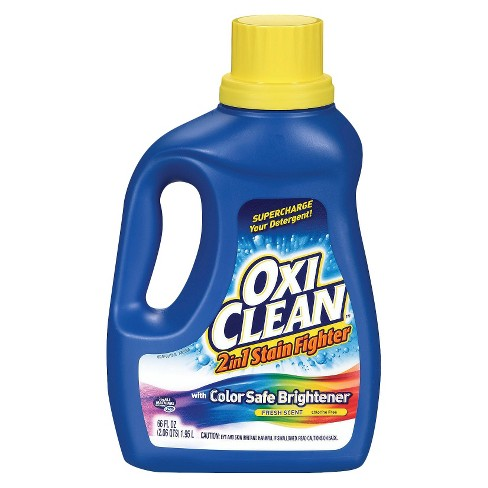 OxiClean 2 in 1 Stain Fighter with Color Safe Brightener Fresh Scent 66 oz - image 1 of 1