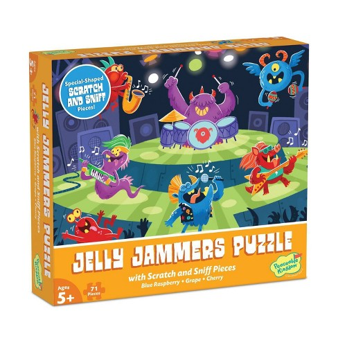 Mindware Jelly Jammers Scratch & Sniff Jigsaw Puzzle - 71pc - image 1 of 4