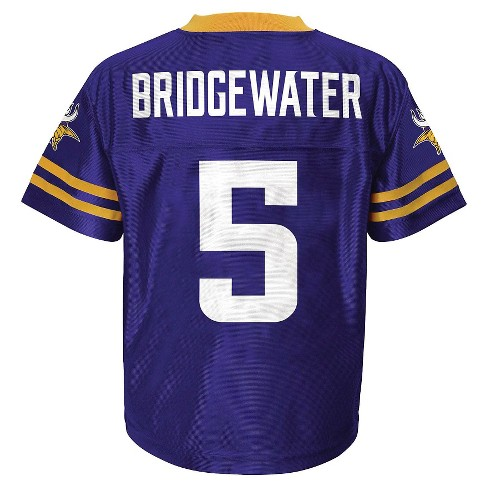 promo code 0575c 7e8a1 Teddy Bridgewater Minnesota Vikings Boys' Player Jersey XL