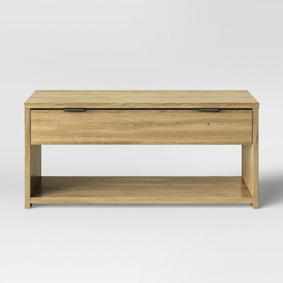 Coffee Table With Drawer Natural   Made By Design™