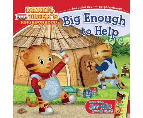 Big Enough to Help -  (Daniel Tiger's Neighborhood) (Paperback) - image 1 of 1