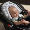 GO by Goldbug Clouds Duo Car Seat Head Support and Strap Set - image 2 of 4