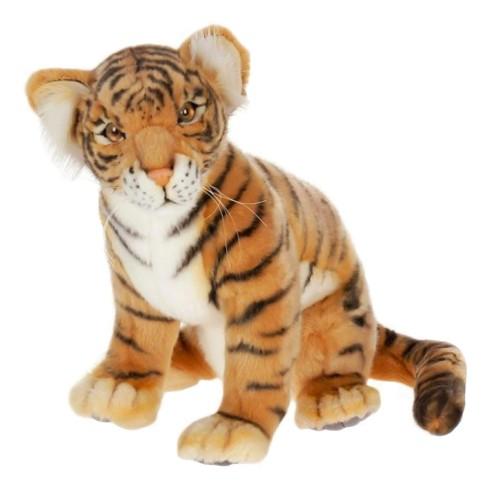 Hansa Sitting Tiger Cub Plush Toy - image 1 of 1