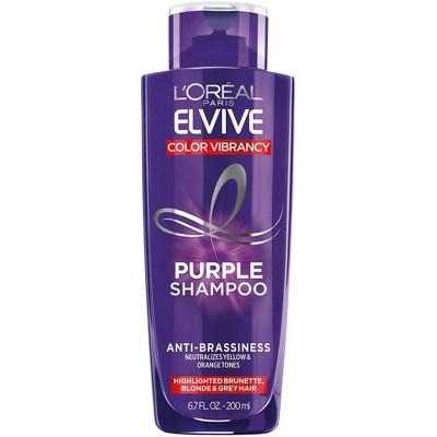 L'Oreal Paris Elvive Purple Shampoo - 6.8 fl oz