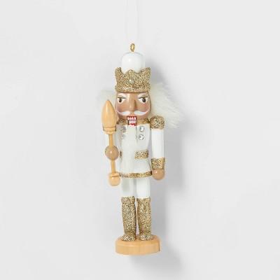 Nutcracker White Christmas Tree Ornament - Wondershop™
