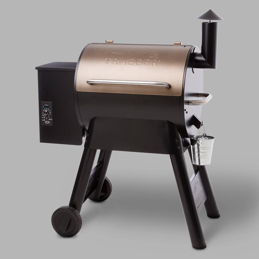 Traeger Pro Series 22 Pellet Grill TFB57PZB – Bronze 53926078