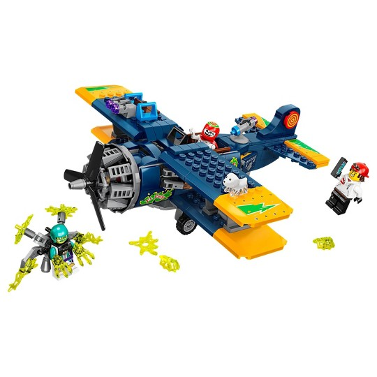 LEGO Hidden Side El Fuego's Stunt Plane 70429 Amazing AR Ghost Hunting Toy image number null