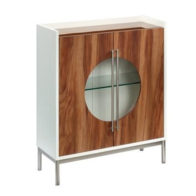 Vista Key Accent Cabinet Brown - Sauder
