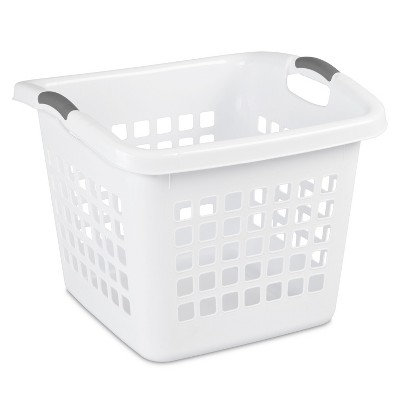 Sterilite 1.75 Bu Ultra Square Laundry Basket - White