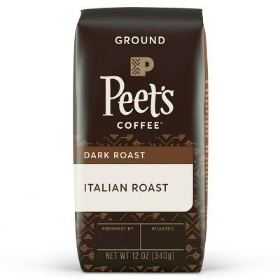 Peet's Italian Dark Roast Ground Coffee - 12oz