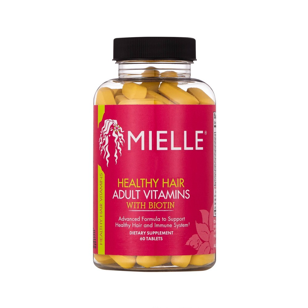 Image of Mielle Healthy Hair Adult Vitamins with Biotin – 60ct