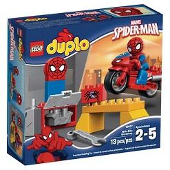 LEGO DUPLO Super Heroes Spider-Man Web-Bike Workshop 10607