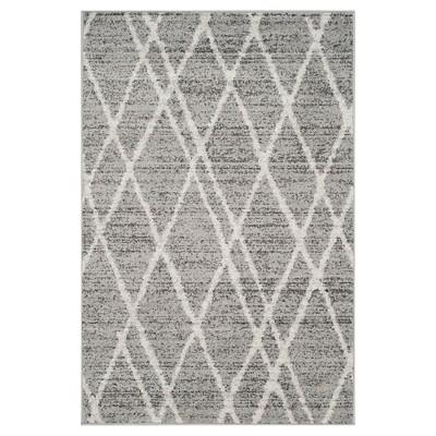 Adirondack Rug - Ivory/Silver - (4'x6')- Safavieh