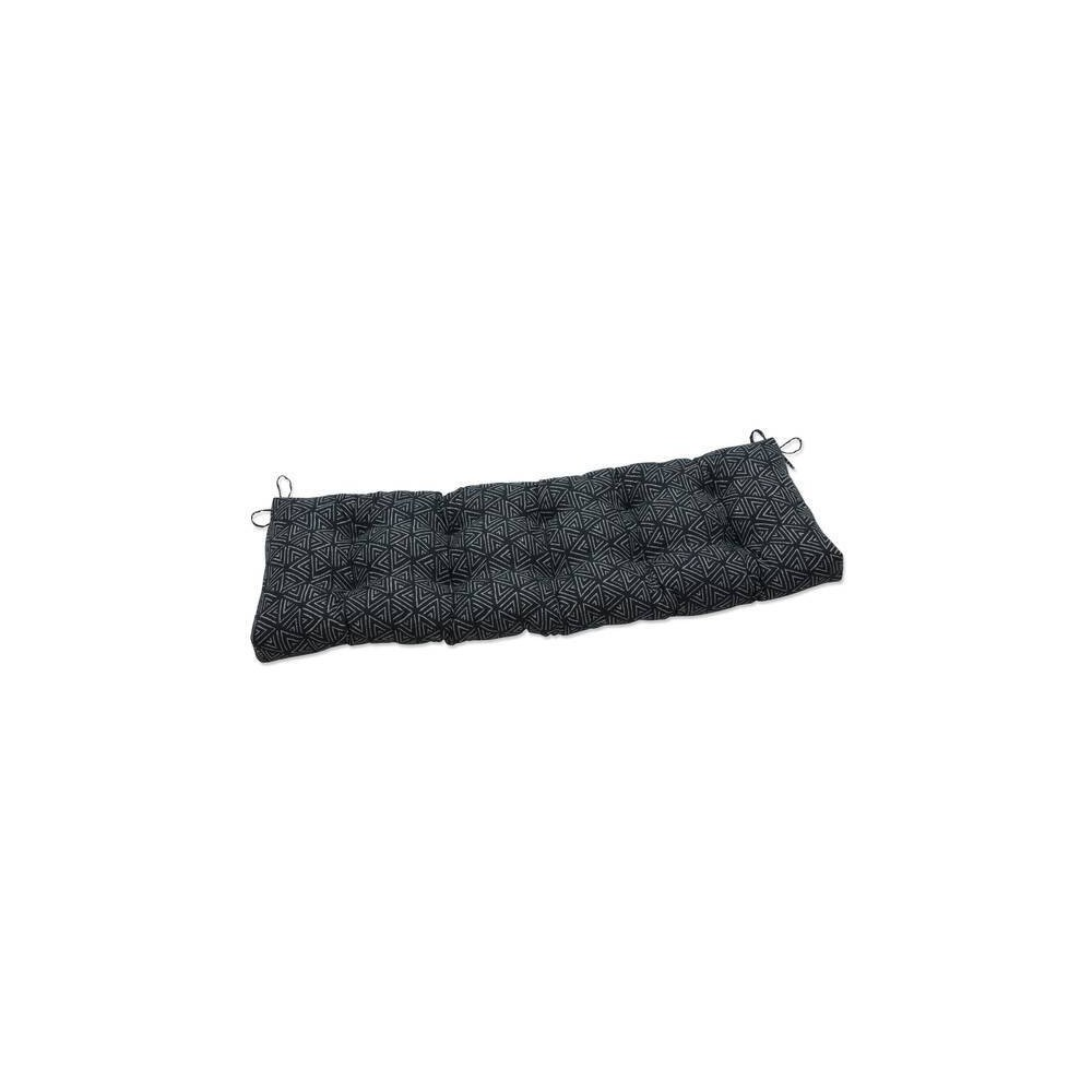60 34 X 18 34 Outdoor Indoor Tufted Bench Swing Cushion Kuka Amazon Black Pillow Perfect