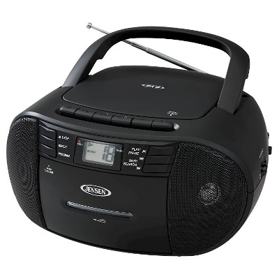 JENSEN® Portable Stereo CD Cassette Recorder with AM/FM Radio With : Target