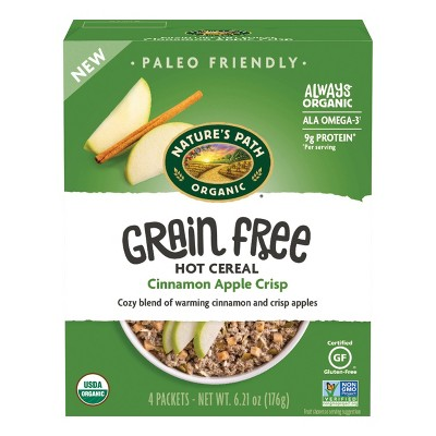 Nature's Path Grain Free Cinnamon Apple Oatmeal - 6.21oz